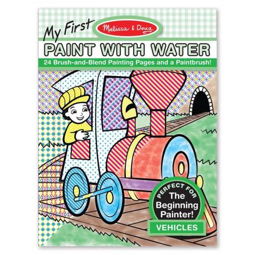 Maluj s vodou- dopravní prostředky