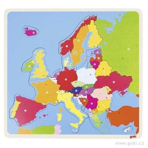 Puzzle Evropa